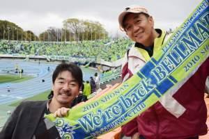 0410駒沢スタジアムにて