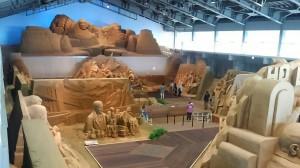 0424砂の美術館