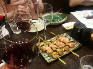 0617ワインと焼鳥